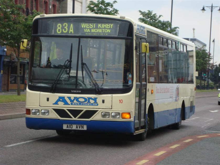 Avon Buses Volvo B6 10