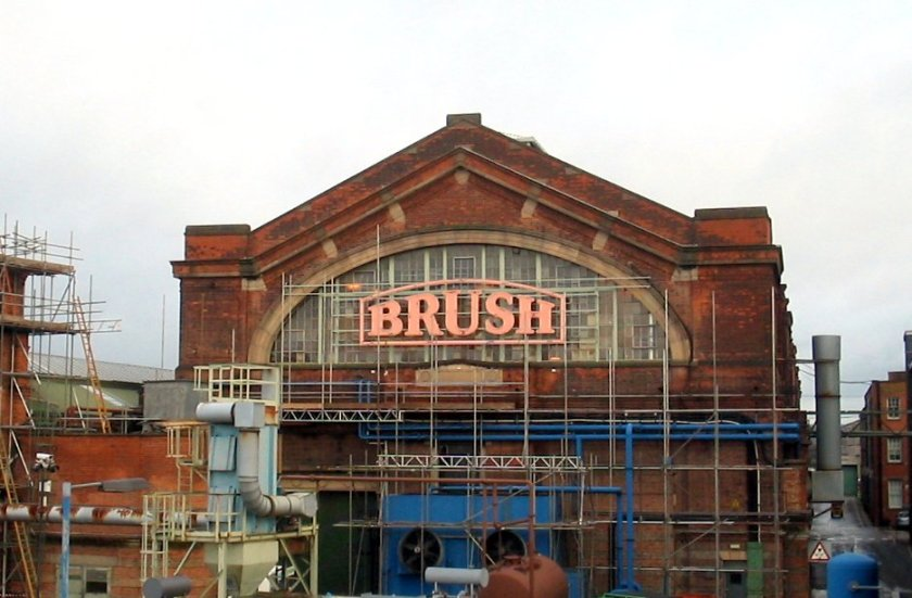 Brush works in Loughborough