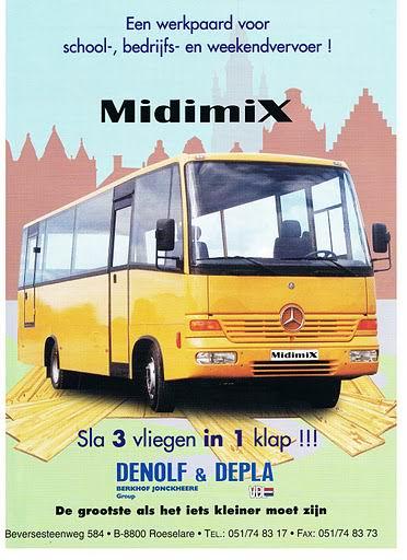 Bussen DENOLF&DEPLA Midimix (Car&Bus 1999)