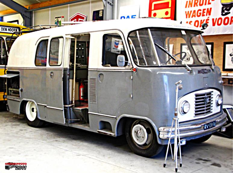 Chevrolet Werkspoor Wereld Omroep.
