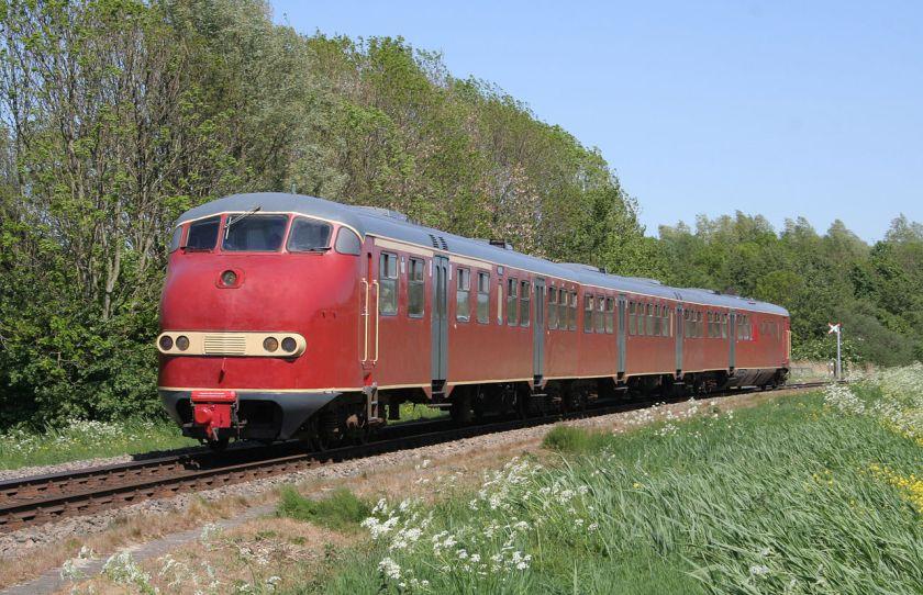 Dieselelektrisch treinstel Plan U