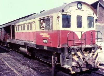 Diesellocomotief uit de Argentijnse order.Werkspoor10791