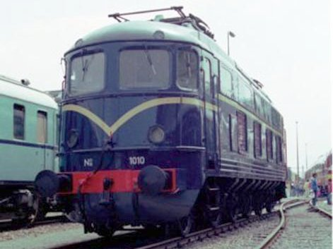 Elektrische locomotief NS 1010.