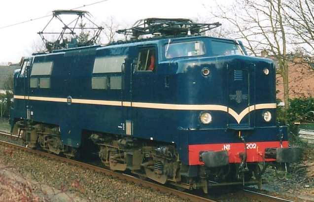 Elektrische locomotief NS 1202.