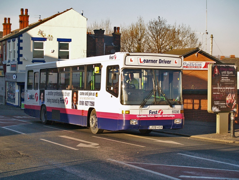 First Manchester Volvo B10B Alexander Strider learner bus