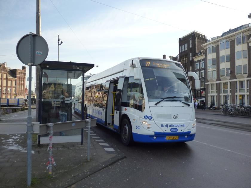 GVB 007 (APTS Phileas) Amsterdam NL