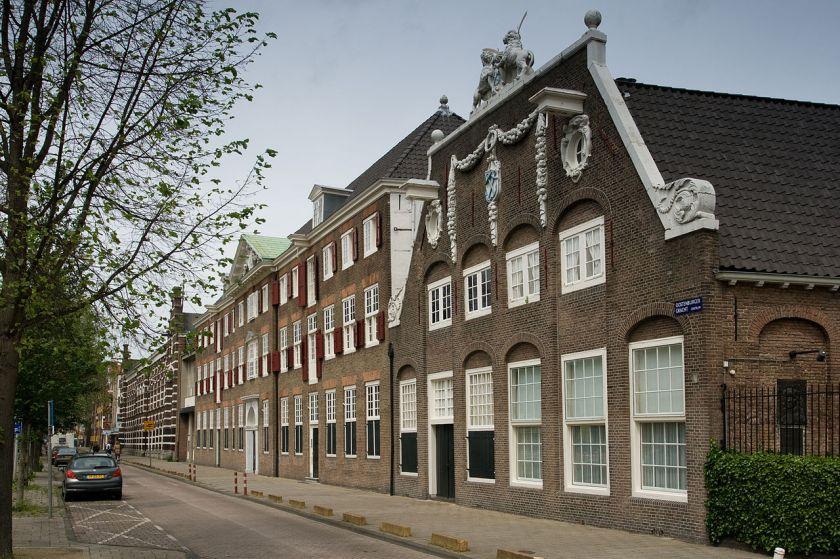 Het Werkspoormuseum in het voormalige Admiraliteitsgebouw aan de Oostenburgergracht.