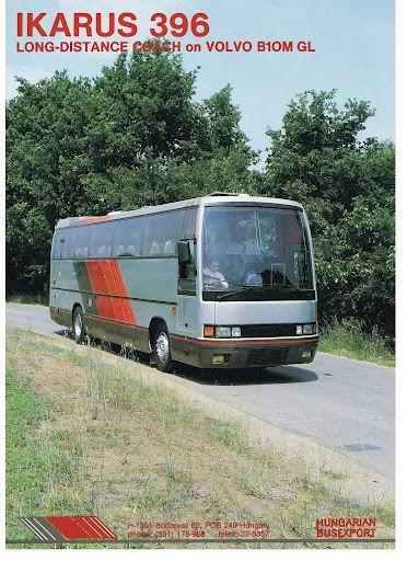 IKARUS 396 op Volvo B10M-GL