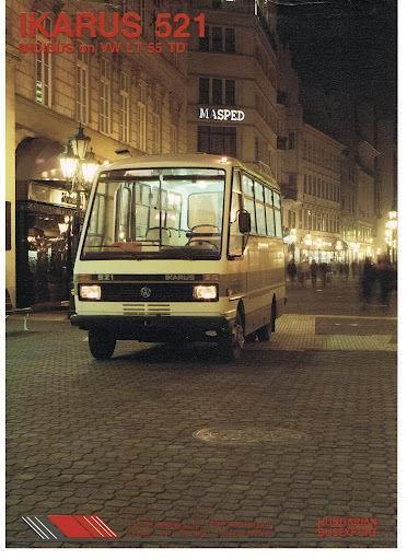 IKARUS 521 op VW LT55TD
