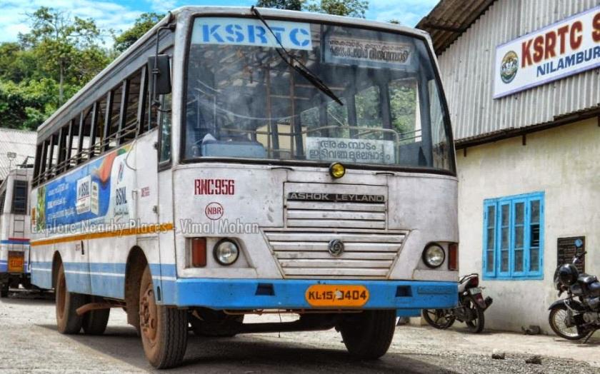 Kakkadampoyil nilambur ksrtc bus