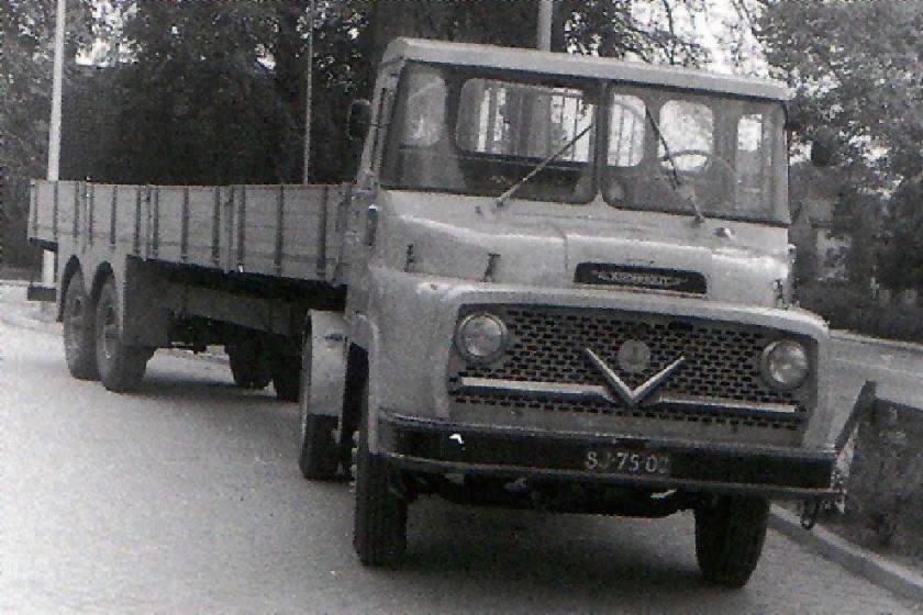 Kromhout-Verheul vrachtauto a