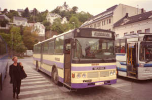 KZ30890 is a VBK bodied Scania