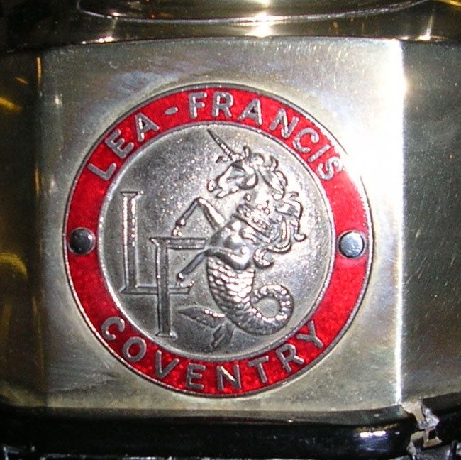 Lea-Francis radiator badge