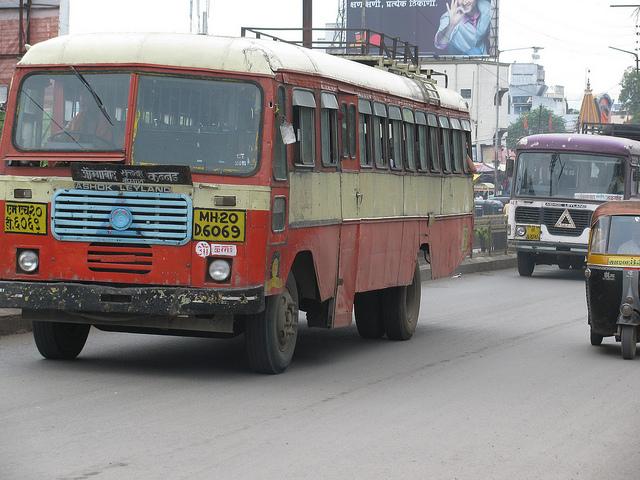MSRTC buses, Aurangabad