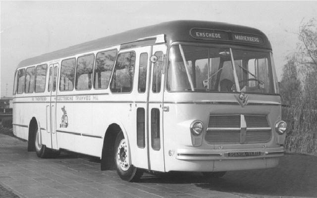 Scania-Vabis met carrosserie van Verheul met het kenteken SB-80-80