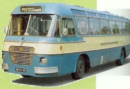Scania Vabis Verheulbus (nr. 114) van De Valk