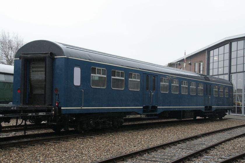 Spoorwegrijtuig Plan W, nr. B4118.