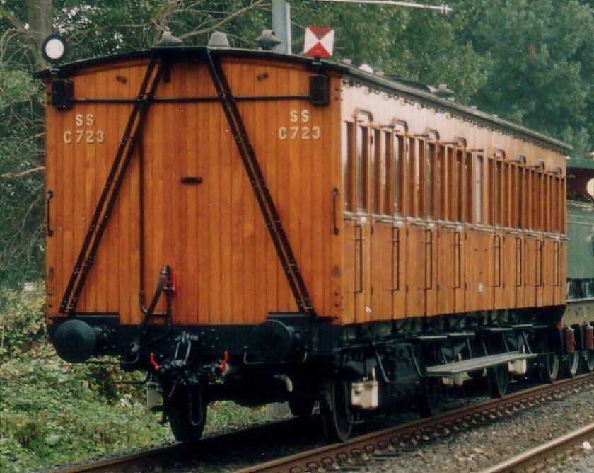 Spoorwegrijtuig SS C723.