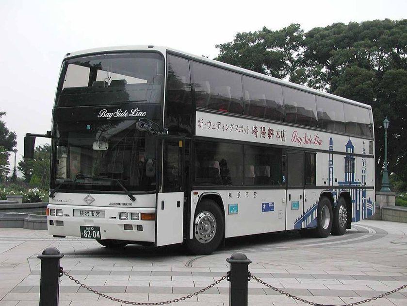 Stadsbus van Yokohama Jonckheere Monaco.