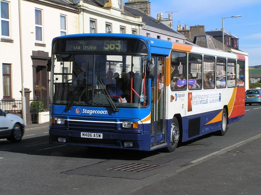 Stagecoach West Scotland Alexander PS bodied B10M