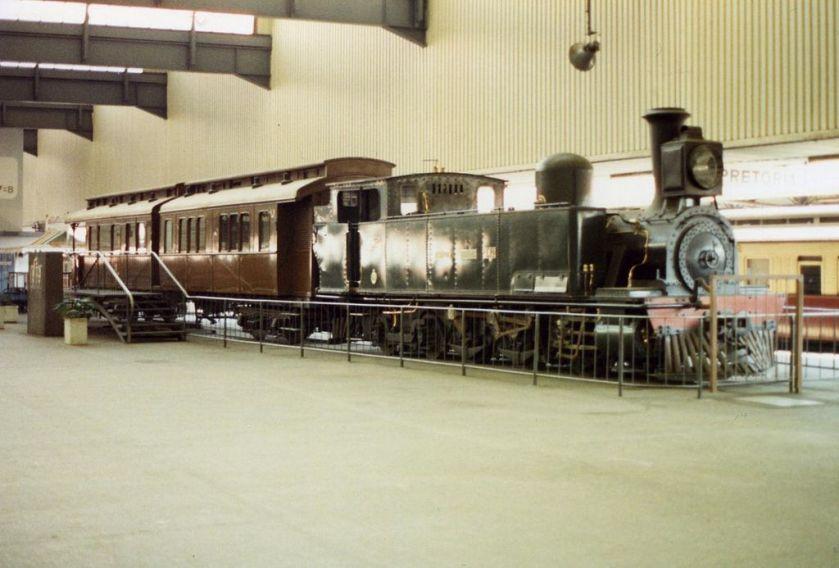Stoomlocomotief Class B (0-6-4T) nr. 236 van NZASM