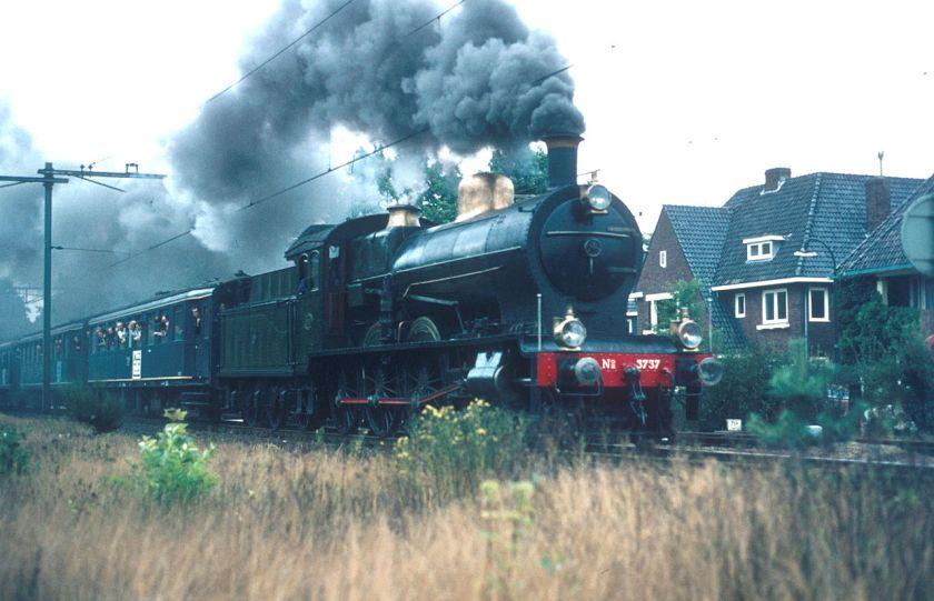 Stoomlocomotief NS 3737 (ex SS 731).