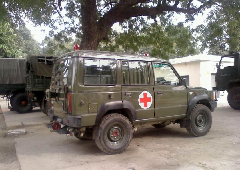 Tata Sumo in Indian Army