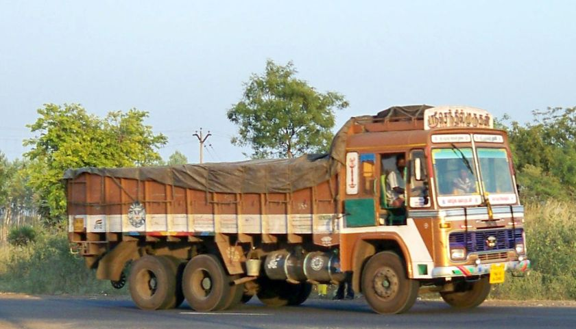 Tata twin Axle Lorry