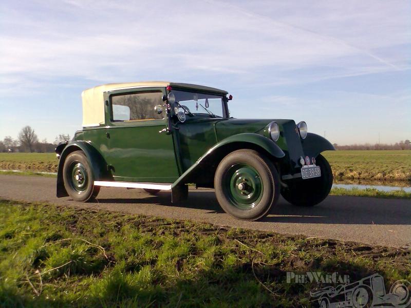 Tatra 57 Cabrio Limo 1933