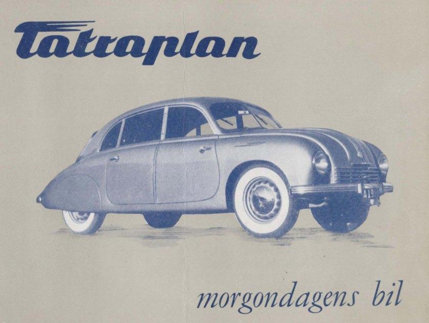 Tatra 600 Tatraplan- Samochody aerody