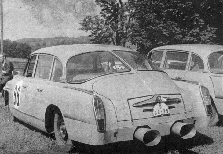 Tatra 603- Aerodynamické automobily