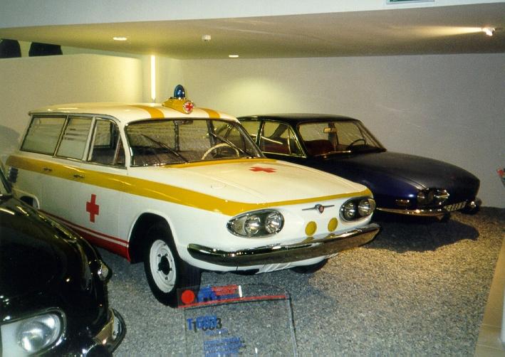 Tatra 603A Ambulance