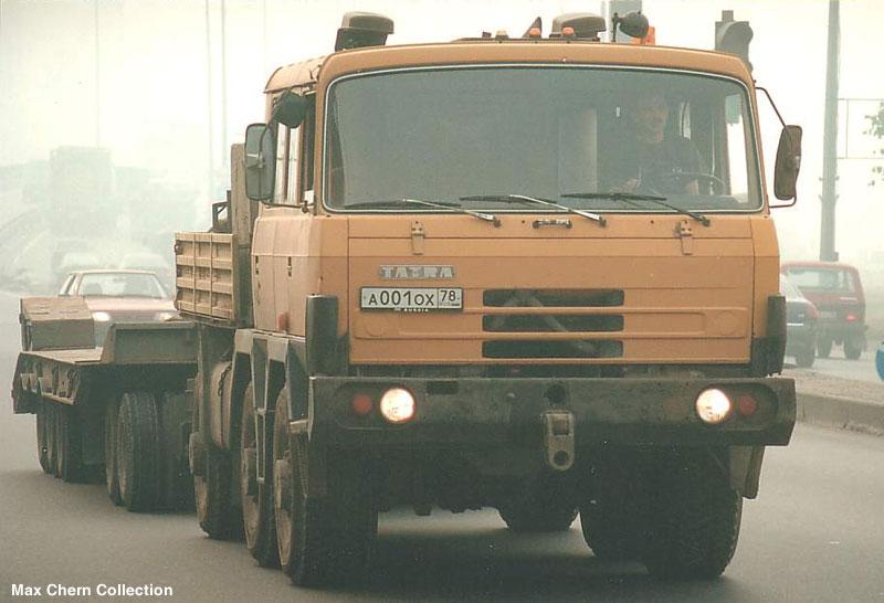 tatra ballast trucktor