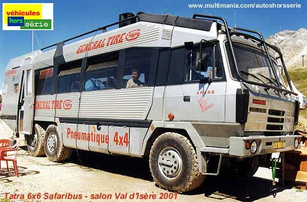 Tatra bus Val AVD 6x6
