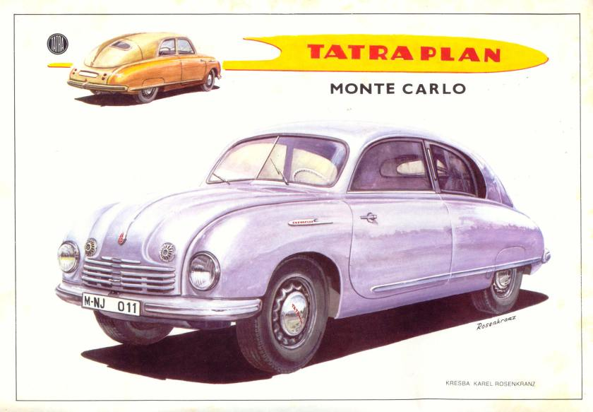 Tatra T 600 Monte Carlo
