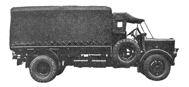 Tilling-Stevens petrol-electric searchlight lorry