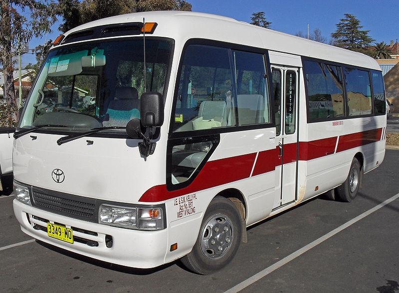 Toyota Coaster Schoolbus