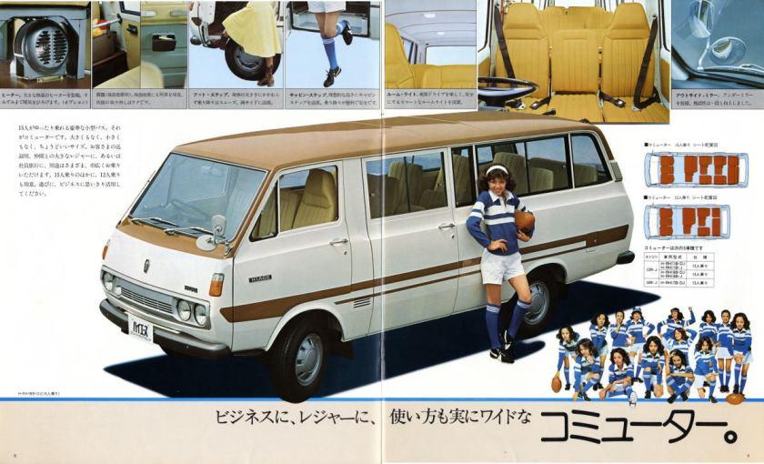 Toyota Hiace Minibus Catalogue