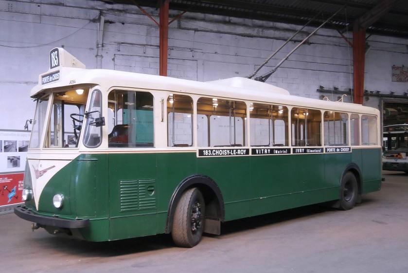 TROLLEYBUS VETRA - Ligne 183