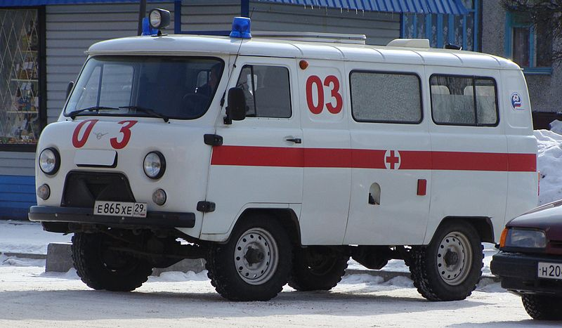 UAZ 452, Ambulances, Koryazhma