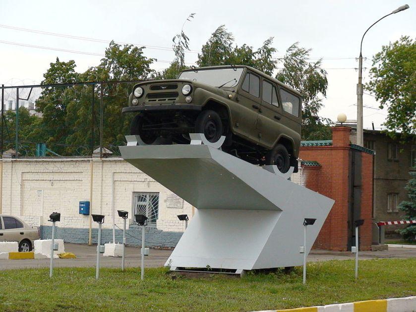 UAZ-469 stella at UAZ plant in Ulyanovsk