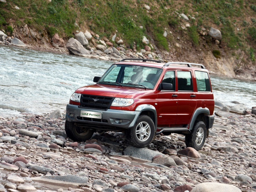 uaz patriot 1st suv5d-4800