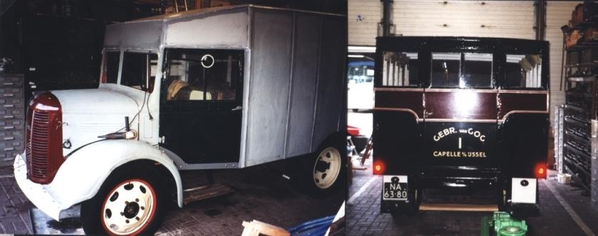Van Gog 01 1948 Austin Bellewagen hersteld