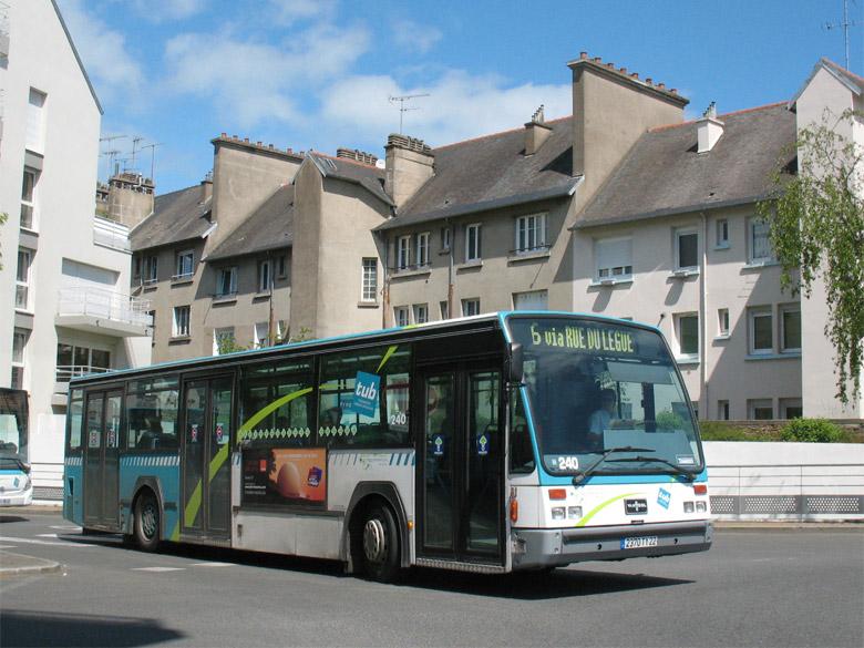 Van Hool A 500 - TUB - St-Brieuc