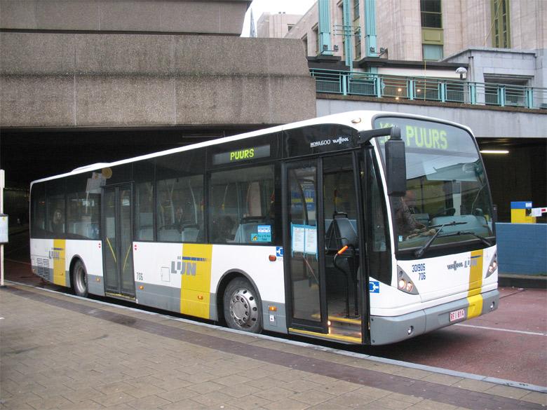 Van Hool A 600 - De Lijn - Bruxelles