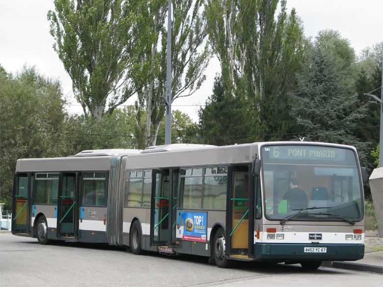 Van Hool AG 300 - CTS - Strasbourg