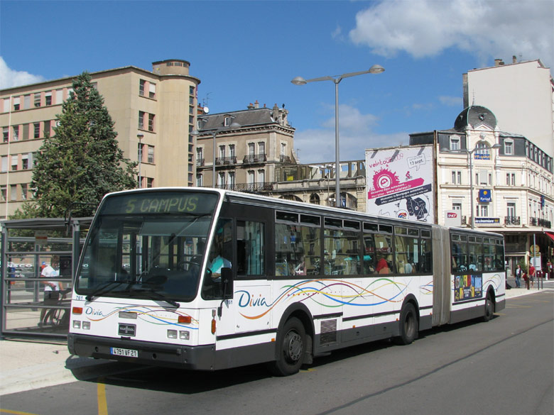 Van Hool AG 700 - Divia - Dijon
