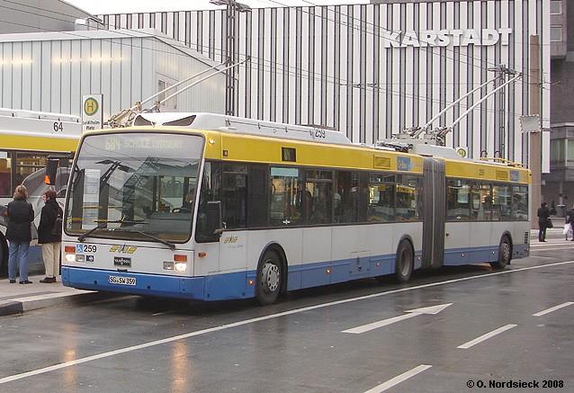 Van Hool AG300T-O-Gelenkbus-SWS