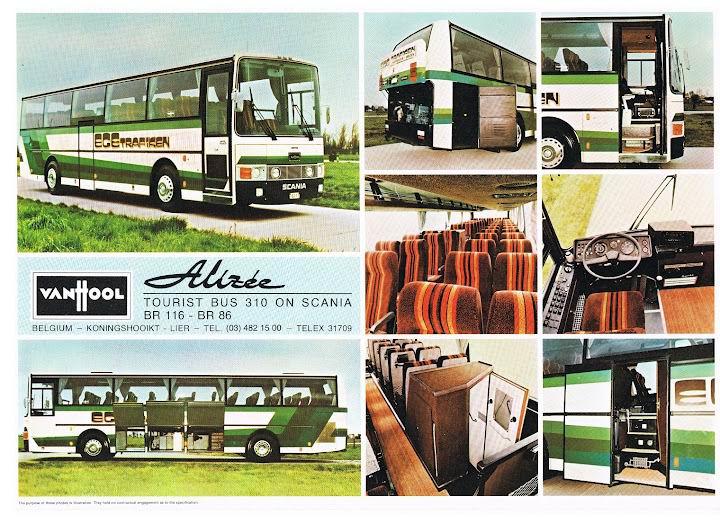 VAN HOOL Bus 319 SCANIA BR116-BR86