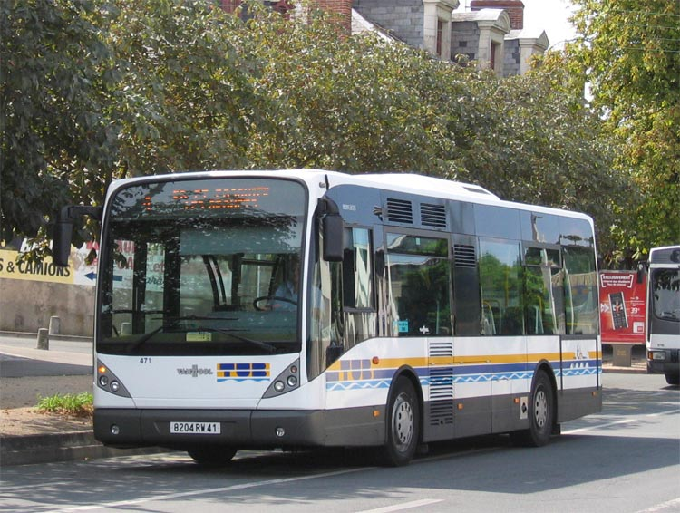 Van Hool new A 308 - TUB - Blois